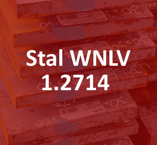 stal do pracy na gorąco 1.2714 WNLV stahl hot work tool steel